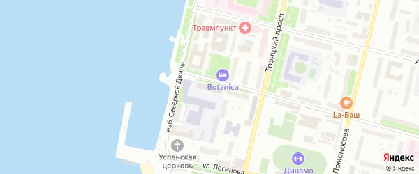 Садовая улица на карте садового некоммерческого товарищества Садоводы Севера сад N2 с номерами домов