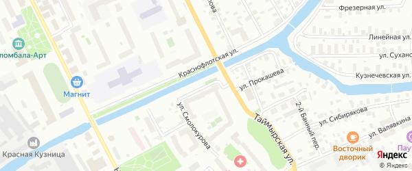 Адмиралтейская улица на карте Архангельска с номерами домов