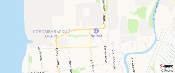 ГСК Тормоз на карте Усть-Двинской улицы с номерами домов