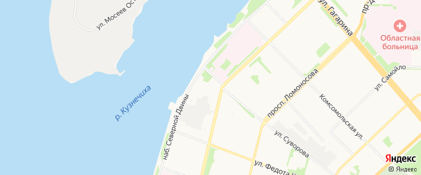 ГСК на Суворова 6 на карте улицы Суворова с номерами домов