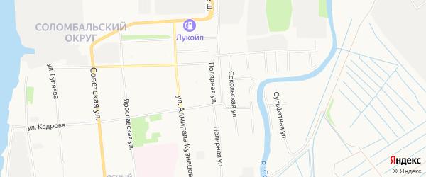 ГСК Эврика на карте Полярной улицы с номерами домов