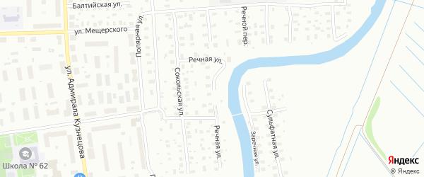 Речная улица на карте Архангельска с номерами домов