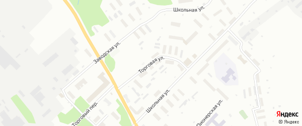 Торговая улица на карте Архангельска с номерами домов