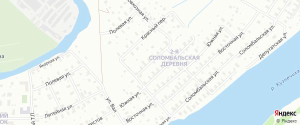 Заполярная улица на карте Архангельска с номерами домов