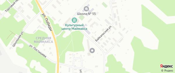 Лесотехническая улица на карте Архангельска с номерами домов