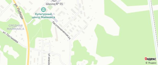 Сольвычегодская улица на карте Архангельска с номерами домов