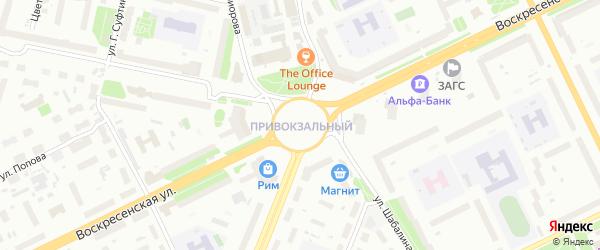 Площадь Дружбы народов СССР на карте Архангельска с номерами домов