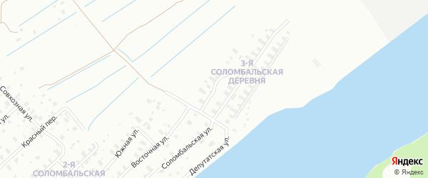 Большеземельская улица на карте Архангельска с номерами домов