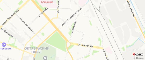 ГСК Аксон на карте проезда Бадигина с номерами домов