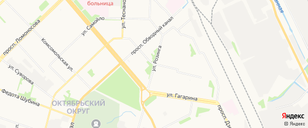 ГСК Движение на карте проезда Бадигина с номерами домов