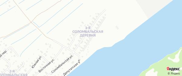 Столбовая улица на карте Архангельска с номерами домов
