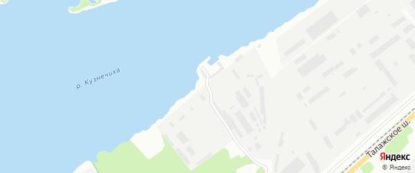 Улица Двинской поселок на карте Архангельска с номерами домов