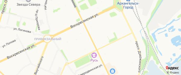 ГСК Луч на карте улицы Тимме с номерами домов