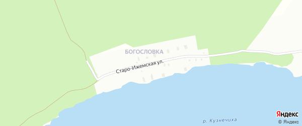 Старо-Ижемская улица на карте Архангельска с номерами домов