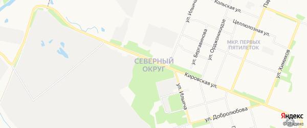 Северный ГСК на карте улицы Георгия Иванова с номерами домов