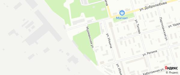 Мурманская улица на карте Архангельска с номерами домов