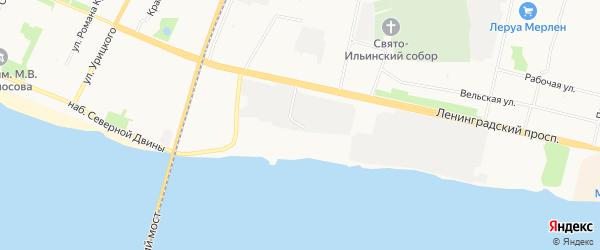 ГСК Лада К на карте улицы Чапаева с номерами домов