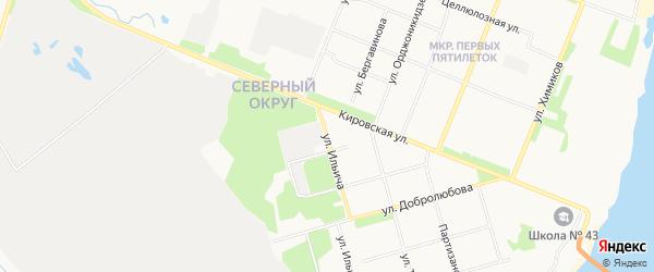 ГСК Рейтинг на карте улицы Ильича с номерами домов