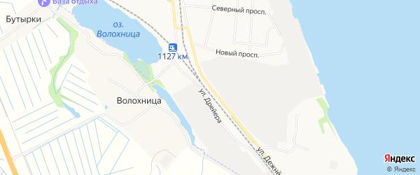 ГСК Мост на карте улицы Дежневцева с номерами домов