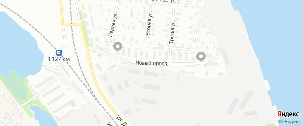 Новый проспект на карте Архангельска с номерами домов