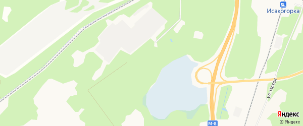 Карта населенного пункта КИЗ Собора города Архангельска в Архангельской области с улицами и номерами домов