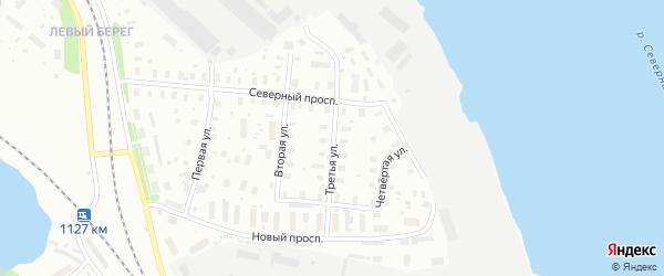 3-я улица на карте Архангельска с номерами домов