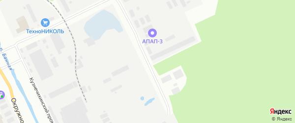 Проезд 6-й (Кузнечихинский промузел) на карте Архангельска с номерами домов