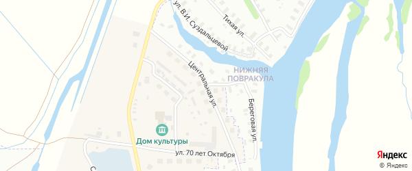 Улица Богового на карте Архангельска с номерами домов
