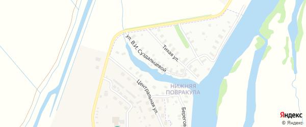 Улица Суздальцевой на карте Архангельска с номерами домов