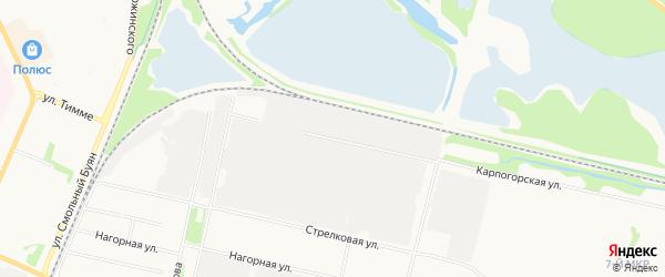 ГСК Якорь на карте Карпогорской улицы с номерами домов