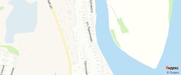 Улица Ларионова на карте Архангельска с номерами домов