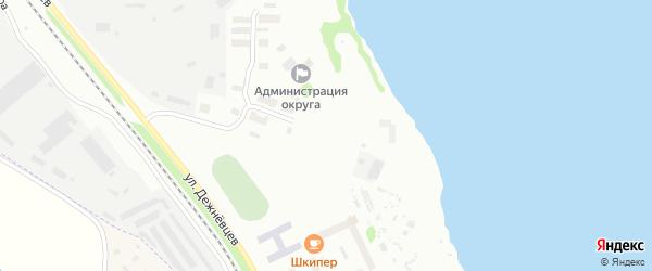 Улица Химпромкомбината на карте Архангельска с номерами домов