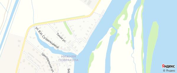 Улица Нижняя Повракульская 4-я линия на карте Архангельска с номерами домов