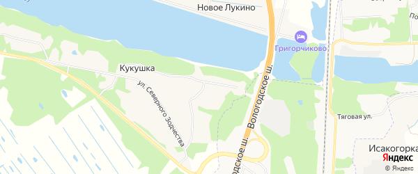 Карта деревни Кукушки в Архангельской области с улицами и номерами домов