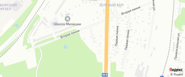 Деповская улица на карте Архангельска с номерами домов