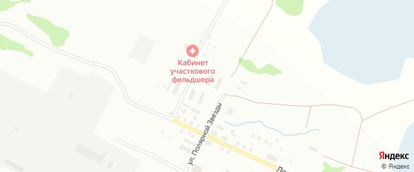Карская улица на карте Архангельска с номерами домов