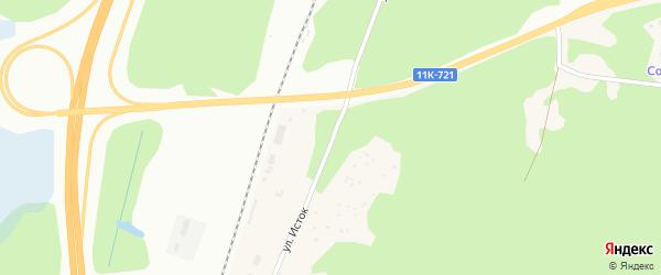Улица Исток на карте Архангельска с номерами домов