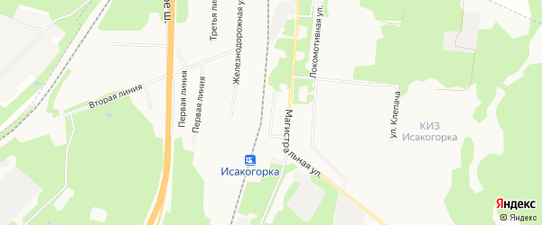 ГСК Модерон на карте Привокзальной улицы с номерами домов
