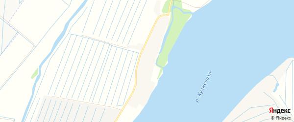 Карта Повракульской деревни в Архангельской области с улицами и номерами домов