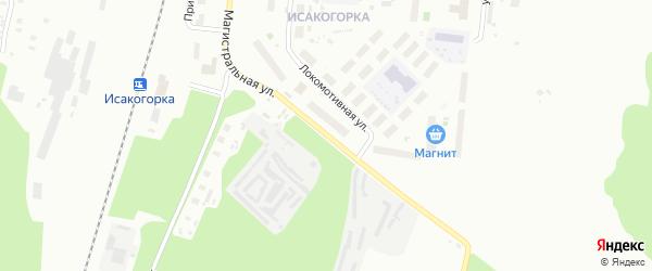 Магистральная улица на карте Архангельска с номерами домов