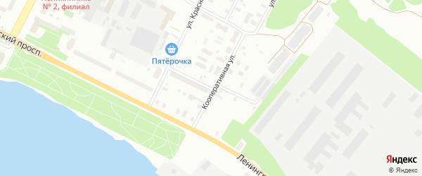 Улица Некрасова на карте Архангельска с номерами домов
