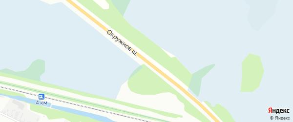 Окружное шоссе на карте Архангельска с номерами домов