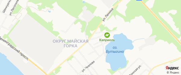 ГСК Мебельщик на карте улицы Ленина с номерами домов