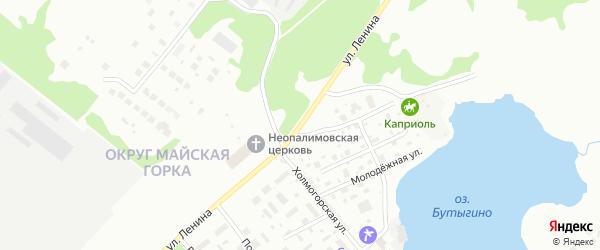 Улица Ленина на карте Архангельска с номерами домов