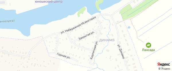 Закрытая улица на карте Архангельска с номерами домов