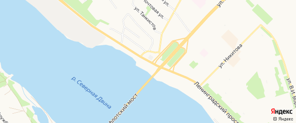 ГСК Фортуна на карте Ленинградского проспекта с номерами домов