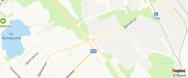 На Дачной ГСК на карте Дачной улицы с номерами домов