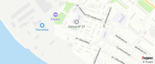 Улица Кирова на карте Архангельска с номерами домов