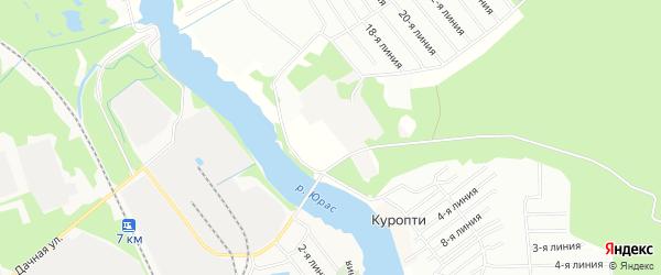 Карта городка Военного 2 в Архангельской области с улицами и номерами домов