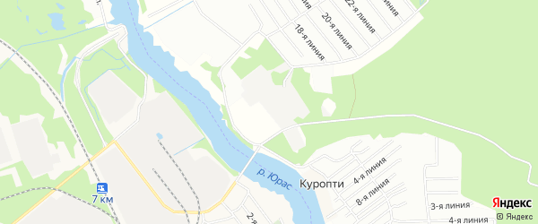 Карта городка Военного 71 в Архангельской области с улицами и номерами домов
